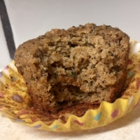Lavender Lemon Poppy Seed Muffins - GF, DF, Paleo